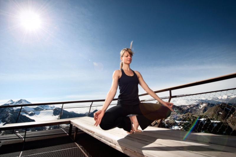 Yoga im Stubaital